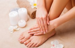 Easy pedicure tips followed