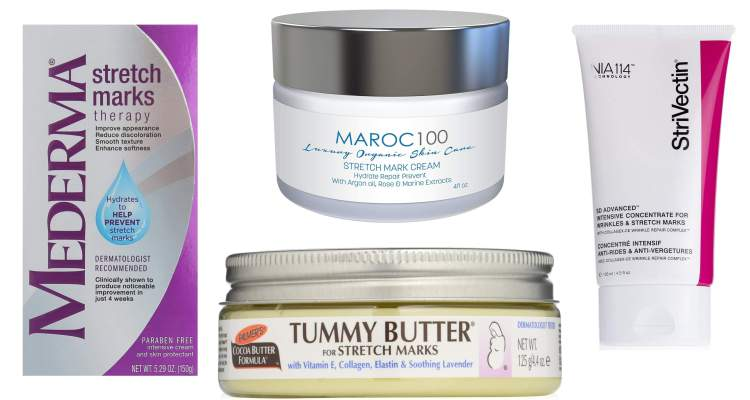 Suitable Creams for Stretch Marks